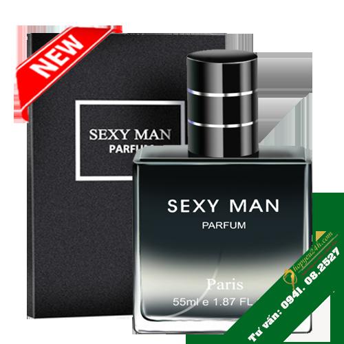 Nước hoa kích dục SEXY MAN siêu mạnh pháp thế hệ mới