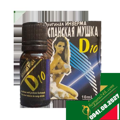 Thuốc kích dục nữ dạng nước D10 của Nga