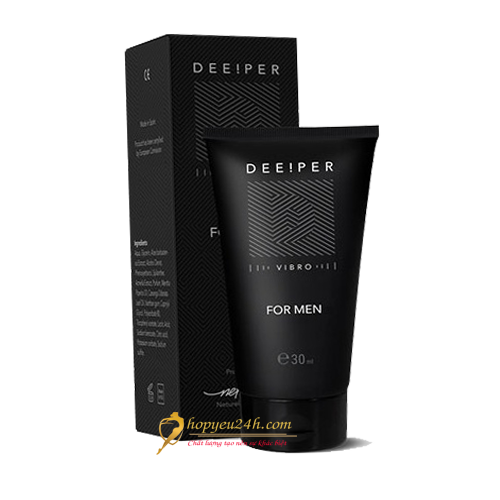 Deeper Gel For Men chính hãng cải thiện cậu nhỏ hiệu quả