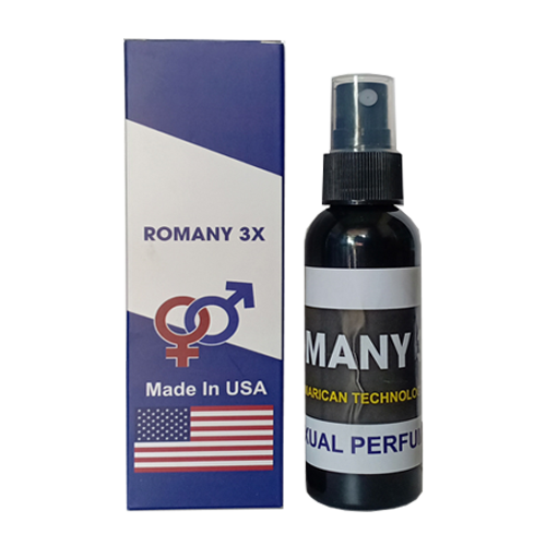Nước hoa kích dục nữ cao cấp không mùi cực mạnh Romany 3X
