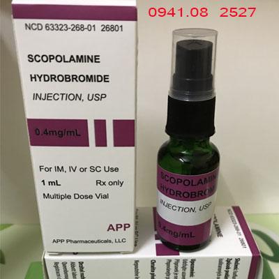 Thuốc mê dạng xịt khí ngửi Sc0-p0lamin